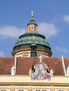 Cupola of st peter and paul church in melk abbey is a benedictine austria among the world s most famous monastic sites it is Royalty Free Stock Photo