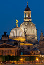 Cupolas of Dresden Royalty Free Stock Photography