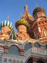 Cupolas of Pokrovsky church Royalty Free Stock Image