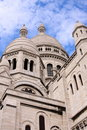 Cupolas of Sacre-Coeur Royalty Free Stock Photo