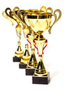 Cups of winner Royalty Free Stock Photo