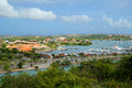 Curacao in the Caribbean sea Royalty Free Stock Photo