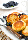 Curd pancakes Royalty Free Stock Photo