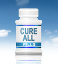 Cure all concept. Stock Photo