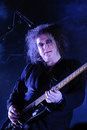 The cure band performs at san miguel primavera sound festival barcelona spain june on june in barcelona spain Royalty Free Stock Photo