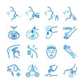 Cure icons set Royalty Free Stock Photo