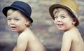 Curious little boys Royalty Free Stock Images