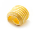 Curl of butter Royalty Free Stock Photo