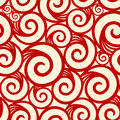 Curl seamless pattern Royalty Free Stock Photo