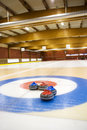 Curling Arena Stock Image