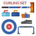 Curling Equipment Set
