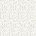 Curls and ringlets seamless vector pattern light abstract background of repeated curves wallpapers like waves or cumulus clouds Stock Photo