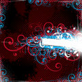 Curly abstract background Royalty Free Stock Photo