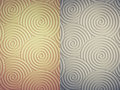 Curly circle pattern texture which can be used as background in Royalty Free Stock Photo
