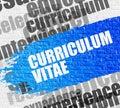 Curriculum Vitae on the Brickwall.