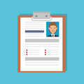 curriculum vitae document icon