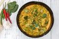 Curry chicken parkia timoriana spicy taste