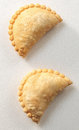 Curry chicken puff Royalty Free Stock Photo