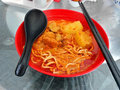 Curry Noodle, Asian Food Royalty Free Stock Photo