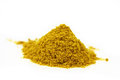 Curry powder isolated close up Royalty Free Stock Photography