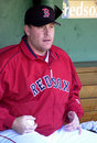 Curt Schilling Boston Red Sox Imagem de Stock