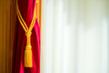 Curtain Royalty Free Stock Photo