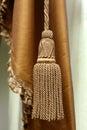 Curtain tassel Royalty Free Stock Photo