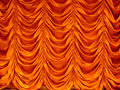 Curtain texture Stock Image