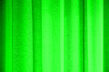 Curtain vivid colorful pelmets in backlight Stock Photography