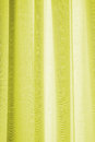 Curtain vivid colorful pelmets in backlight Stock Images