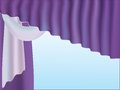 Curtains. Royalty Free Stock Photo