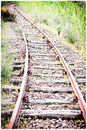 Curve rail corner with climb Royalty Free Stock Photo