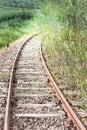 Curve rail corner Royalty Free Stock Photo