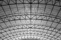 Curve truss Royalty Free Stock Images