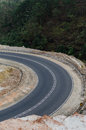 Curved highway Royalty Free Stock Photo
