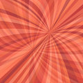 Curved ray burst background - vector design from curved rays in red tones with opacity effect Royalty Free Stock Photo