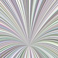Curved ray burst background - vector graphic from striped rays Royalty Free Stock Photo