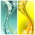 Curves abstract vector Royalty Free Stock Images