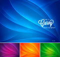 Curvy abstract background collection available in colors suitable for your design element or background Stock Photo
