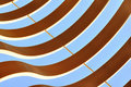 Curvy graphic abstract pattern Stock Image