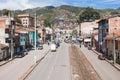 Cusco city life Royalty Free Stock Photo
