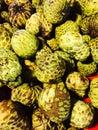 Custard apple fruit thai sell in market Stock Photography