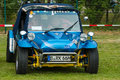 Custom car pesto buggy on the basis of vw beetle paaren im glien germany may oldtimer show in mafz Royalty Free Stock Image