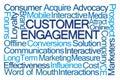 Customer Engagement Word Cloud