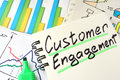 Customer Engagement. Royalty Free Stock Photo