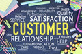 Customer Relation and Satisfaction Royalty Free Stock Photo