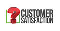 Customer satisfaction question mark unknown illustration design Royalty Free Stock Images