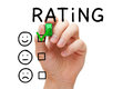 Customer Satisfaction Rating Concept Royalty Free Stock Photo