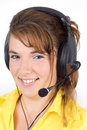 Customer service agent Royalty Free Stock Image