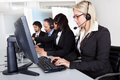 Customer service support people Royalty Free Stock Photo
